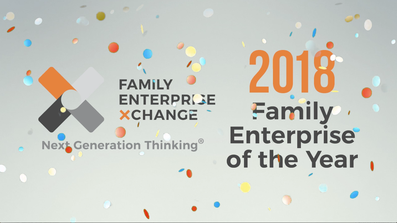 FEX 2018 SWO family enterprise of the year